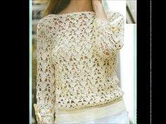 """Crochet Blusa """"Mayo"""" (Parte 1) Fácil de tejer Tutorial Gratis por Maricita Colours - YouTube"""