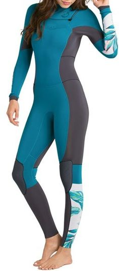 4 3mm Women S Billabong Synergy Full Wetsuit Wetsuit