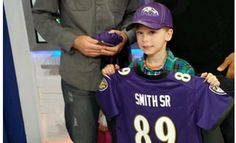 Steve Smith surprised young Panthers fan who burst into tears after hearing he was going to the Ravens
