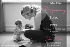 Part 3 Fix Me After Pregnancy: Pregnancy and Postpartum Exercise + Alignment - Mama Lion Strong with @Mama Lion Strong