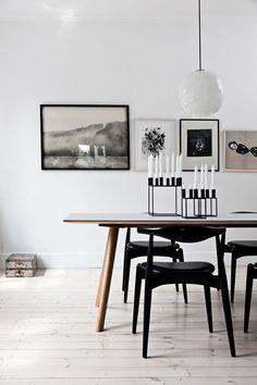 An Old House Scandinavian Dining TableTeak