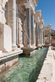 Sagalassos fountain,Turkey 160-180 AD. #ancientarchitecture