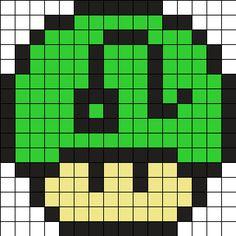Zodiac Leo Mushroom Perler Bead Pattern