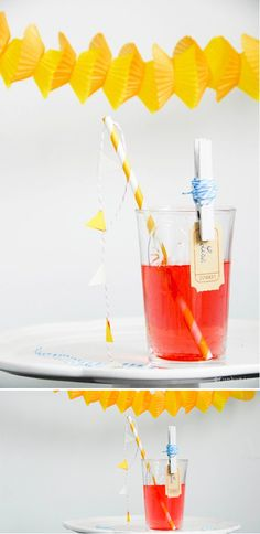 Clothespin drink charm