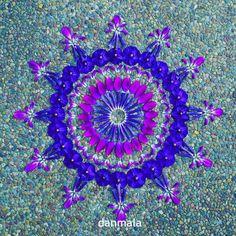 #danmala #flowermandala #mandala #flowers #meditation #flowerart #natureart #naturemandala #purpleflowers #purple #dscolor
