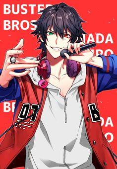 Anime Boys, Cool Anime Guys, Handsome Anime Guys, Hot Anime Boy, Otaku Anime, Demon Manga, Animes On, Rap Battle, Anime Artwork