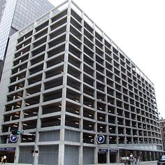 Hines Parking Garage at Walker and Main downtown