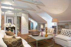 Scandinavian Design: an Elegant Attic by Karlaplan | HomeDSGN