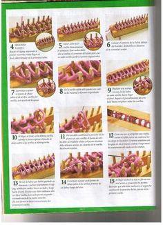 Loom knitting stitches page 02 by tlcieniewicz