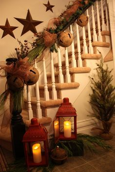 Below are the Christmas Staircase Decoration Ideas. This article about Christmas Staircase Decoration Ideas was posted under the category by our team at April 2019 at pm. Hope you enjoy it and don't forget to share this post. Prim Christmas, Magical Christmas, Christmas Bells, Christmas Holidays, Christmas Crafts, Christmas Design, Beautiful Christmas, Christmas Vacation, Christmas 2019