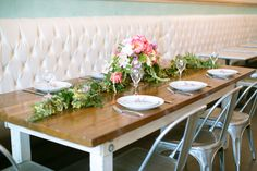 in love with everything about this bridal shower at Sweet Paris Creperie in Rice Village.