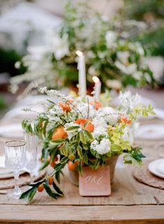 Vibrant Citrus Inspired California Wedding - MODwedding
