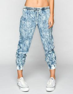 ALMOST FAMOUS Crave Fame #Chambray #Jogger Pants