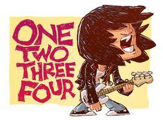 Dee Dee Ramone ~ The Ramones ~ Punk Rock