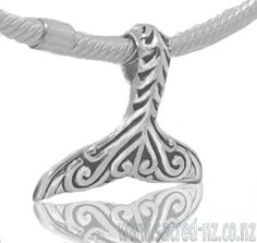 Sacred NZ 925 Sterling Silver Whale Tail