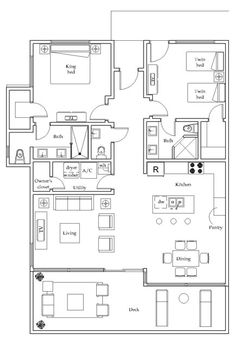 Luxury Condo Floor Plans | Floor Plans  Luxury Florida Beach Condominium  for sale