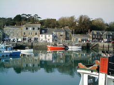Padstow harbour, north Cornwall, UK.