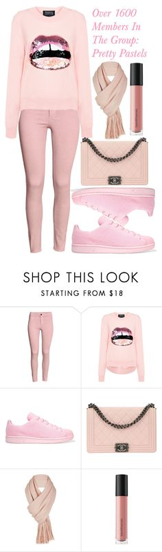 """""""Over 1600 Members In The Group: Pretty Pastels"""" by deedee-pekarik ❤ liked on Polyvore featuring Markus Lupfer, adidas Originals, Chanel, Free People and Bare Escentuals"""