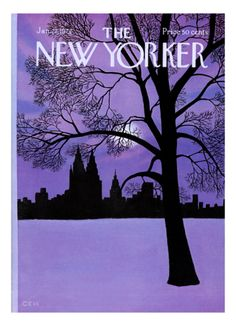 The New Yorker Cover - January 22, 1972 Giclee Print by Charles E. Martin at Art.com