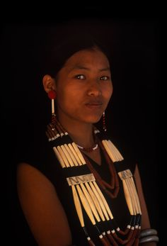 India | Phom.  Mombol, Nagaland | © Patrick de WILDE