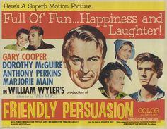 Gary Cooper Dorothy Maguire Anthony Perkins Robert Fuller Marjorie Main