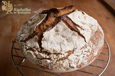 Kuchařka ze Svatojánu: KVÁSKOVÝ CHLÉB Recipe Mix, Muffin, Bread, Vegan, Breakfast, Food, Morning Coffee, Muffins, Meal