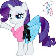 my little pony rainbow power rarity | 50's Rarity by ~ pa0oliitahw
