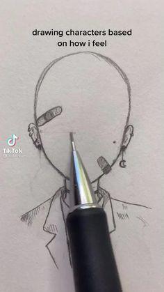 Art Drawings Sketches Simple, Pencil Art Drawings, Art Drawings Beautiful, Art Inspiration Drawing, Digital Art Tutorial, Cartoon Art Styles, Art Sketchbook, Art Tutorials, Cute Art