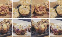 4 Ways Pastry Bombs - Savory Yummy Treats, Muffin, Baking, Breakfast, Food, Morning Coffee, Bakken, Essen, Muffins