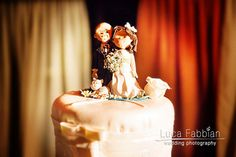 Wedding: cake topper