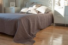 Large CAPPUCCINO throw by FullOfGrey on Etsy