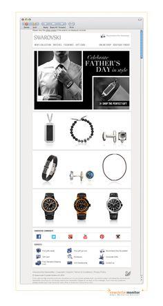 Brand: Swarovski | Subject: Father's Day inspiration