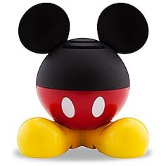 Mickey Mouse Mini Speaker...just saw these at the store ($20.00).  Cute idea, but I wonder how they sound?