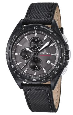 Festina Timeless Chronograph Mens Chronograph very sporty Watch Cool Watches, Watches For Men, Wrist Watches, Daniel Wellington, Emporio Armani, Sporty Watch, Fashion Jewelry, Fashion Accessories, Beautiful Watches