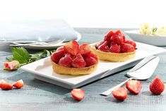 Patisserie strawberry tartlets #productphotography #advertisingphotography #creativephotography #foodphotography  #food #foodie #patisserie #strawberry #tartlets