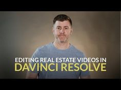 Using DaVinci Resolve vs. Premiere to Edit Video for Real Estate Ronin M, Real Estate Video, Sony, Learning, Youtube, Studying, Teaching, Youtubers, Youtube Movies