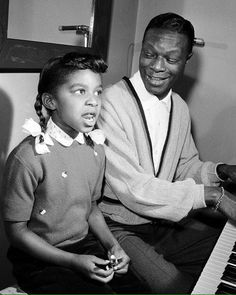 Nat King Cole withhis daughter Natalie.