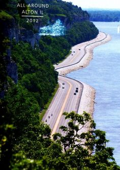 The Great River Road. A beautiful drive along the Mississippi.