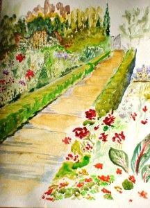 'Garden Gate' by cathy t