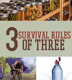 Survival Rules of Three - How Long Could You Last? | Survival Life