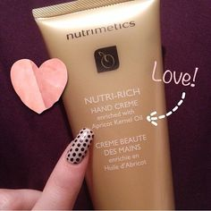 Love this photo by @queenstaceface who loves our Nutri-Rich Hand Crème!