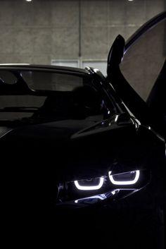 Black with stunning lights.