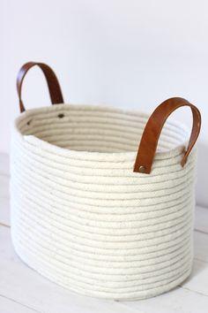 DIY Panier de corde