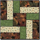 Interlocked Squares (free quilt block pattern) Greens & Browns are beautiful together 💖 Patchwork Quilting, Scrappy Quilts, Patchwork Cushion, Quilting Tutorials, Quilting Projects, Quilting Designs, Quilting Ideas, Quilt Design, Log Cabin Quilts