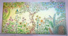 4. Secret Garden Coloured by Meg