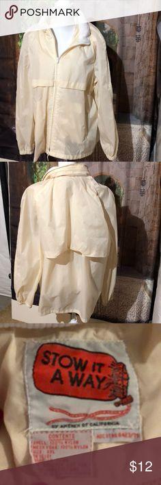 Stow it away jacket Good condition Stow it away Jackets & Coats Windbreakers