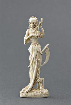 La mort au violon  Figure d'applique  (C) RMN / René-Gabriel Ojéda  17e siècle, période moderne