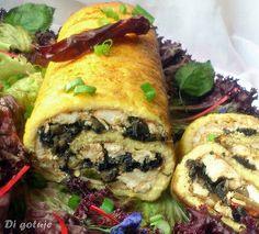 Di gotuje: Rolada serowa (z kurczakiem i pieczarkami)