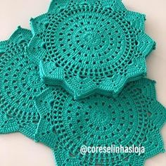 Ideas Crochet For Beginners Doilies Lace For 2019 Crochet Placemats, Crochet Table Runner, Crochet Doily Patterns, Crochet Diagram, Crochet Patterns For Beginners, Crochet Squares, Crochet Motif, Crochet Stitches, Crochet Baby