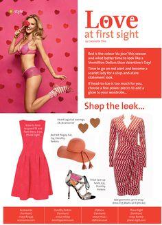 ~ Love at first sight ~ On red alert this Valentine's Day! #locallife #Farnham #Surrey #fashion #style #red #valentines #love